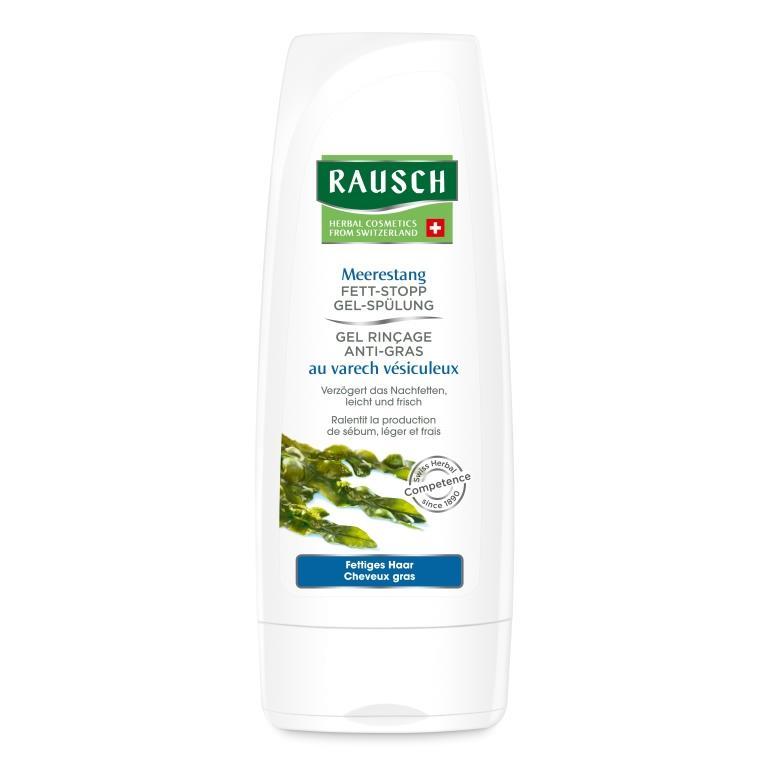 Купить Rausch Смываемый кондиционер с экстрактом водорослей для волос склонных к жирности (Rausch, Для жирной кожи головы)