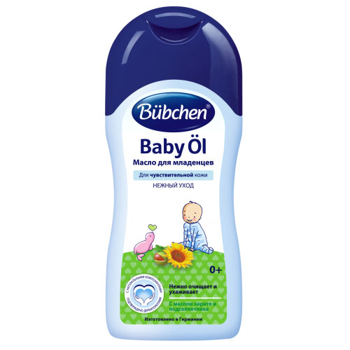 Купить Bubchen Масло для младенцев 40 мл (Bubchen, Уход за кожей лица и тела), Германия