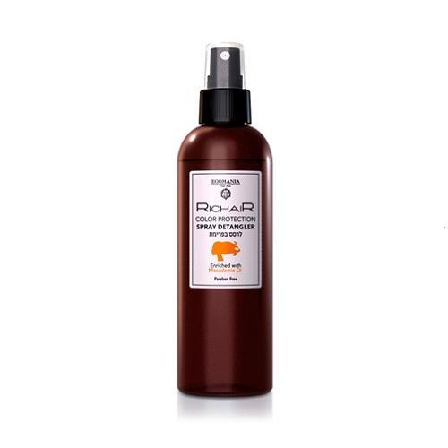 Купить Egomania Professional Спрей-кондиционер для облегчения расчесывания и защиты цвета с маслом макадамии 250 мл (Egomania Professional, RicHair)