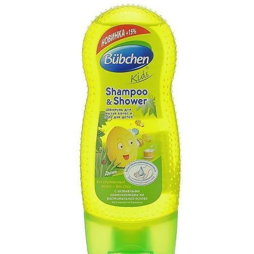 Шампунь для волос и тела Ароматная Дыня 230мл (Bubchen, Для волос) гель для душа bubchen шампунь абрикос
