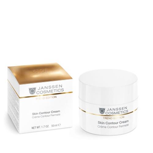 Обогащенный antiage лифтингкрем Skin Contour Cream 50 мл (Janssen, Trend Edition) альпика набор феерия контур express contour mini