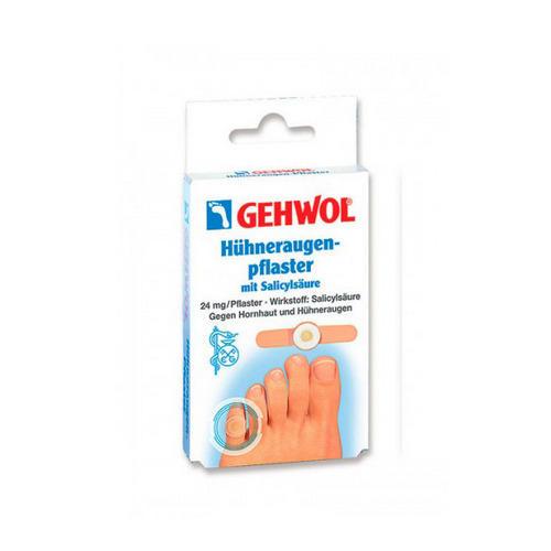 Мозольный пластырь, 8 шт (Gehwol, Защитные средства) компид пластырь от сухих мозолей между пальцами ног 10шт
