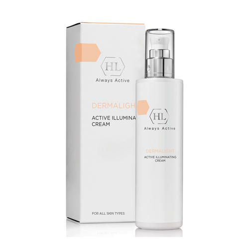 Active Illuminating cream активный осветляющий крем 50 мл (Holyland Laboratories, Dermalight) holy land dermalight illuminating booster бустер осветляющий 100 мл