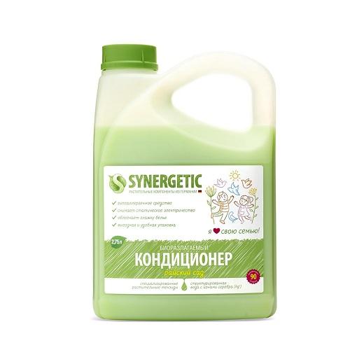 Synergetic Кондиционер для белья Райский сад 2750 мл (Synergetic) кондиционер для белья с запахом