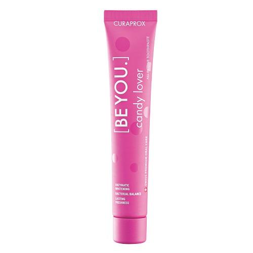 Curaprox Розовая паста зубная любитель конфет со вкусом арбуза 90 мл (Curaprox, Зубные био-пасты)