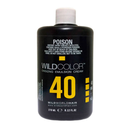 Wildcolor Крем-эмульсия окисляющая Oxidizing Emulsion Cream 12% OXI (40 Vol.), 270 мл (Wildcolor, Oxidizing Emulsion Cream) wildcolor крем эмульсия окисляющая oxidizing emulsion cream 9% 270 мл