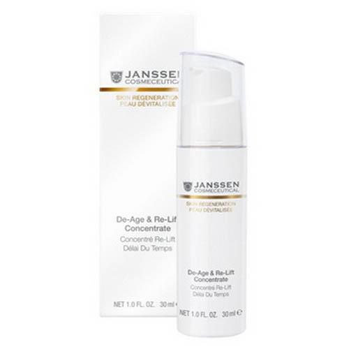 AntiAge экстралифтинг концентрат 30 мл (Janssen, Skin regeneration) цены онлайн