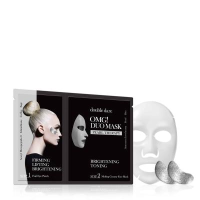 Купить Double Dare OMG Комплекс двухкомпонентный из маски и патчей Сияние и тонизирование 1 шт (Double Dare OMG, DUO), США