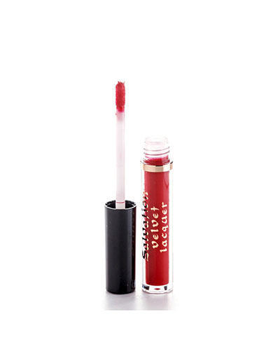 Жидкая помада, тон красный Salvation Velvet Lip Lacquer Keep trying for you, 23 мл (, Makeup revolution)