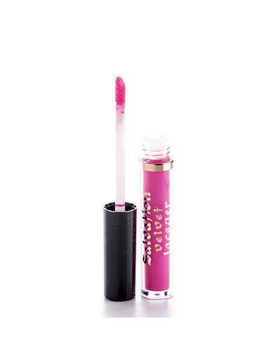 Жидкая помада, тон яркорозовый Salvation Velvet Lip Lacquer I fall in love, 23 мл (, Makeup revolution)