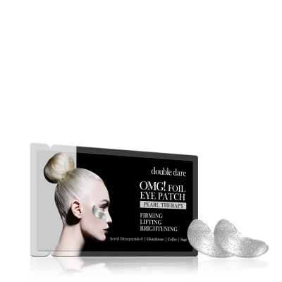 Купить Double Dare OMG Патчи для зоны вокруг глаз «Серебро» 6 г (Double Dare OMG, Double Dare), США