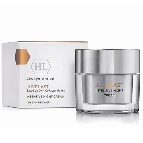 Ночной крем Intensive Night Cream, 50 мл (Holyland Laboratories, Juvelast) balancing cream балансирующий крем 50 мл holyland laboratories probiotic