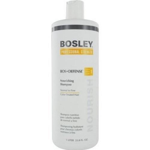 Bosley Шампунь питательный для нормальных и тонких окрашенных волос 1000 мл (Bosley, BosDefense)