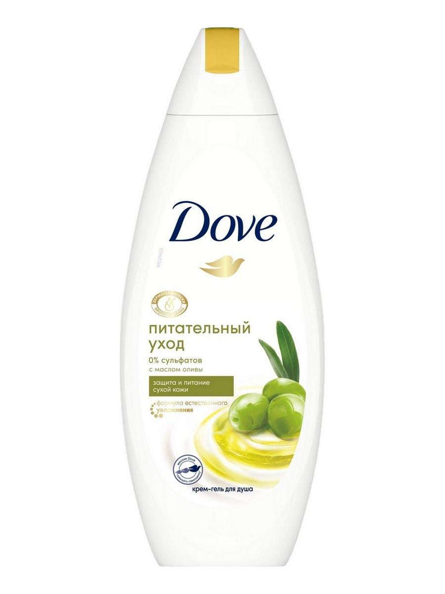 DOVE Гель для душа с маслом оливы 250 мл (DOVE, Средства для ванны и душа)