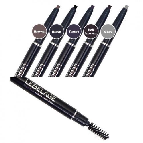 Автоматический карандаш для бровей (серый) (Lebelage, Lebelage) карандаш lebelage auto eye brow soft type black