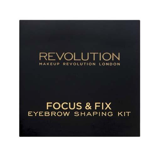 Палетка для бровей Focus and Fix Brow Kit, 5,8 г (Makeup Revolution, Брови)