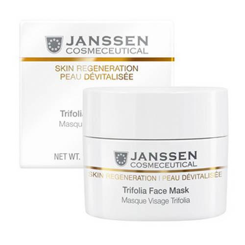 Насыщенная antiage маска с фитоэстрогенами и гиалуроновой кислотой 50 мл (Janssen, Skin regeneration) janssen капсулы с фитоэстрогенами и гиалуроновой кислотой isoflavonia relief 50 капсул