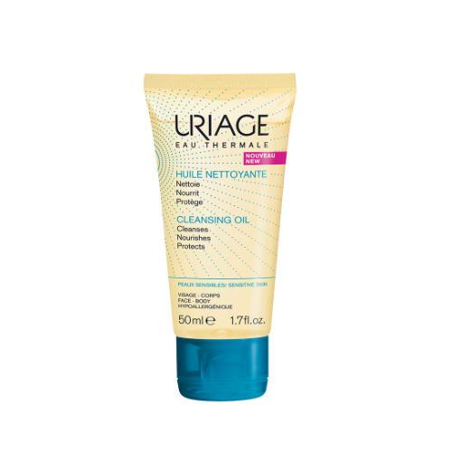 Uriage Очищающее пенящееся масло 50 мл (Uriage, Гигиена Uriage) uriage средство для снятия водостойкого макияжа с глаз 100 мл uriage гигиена uriage