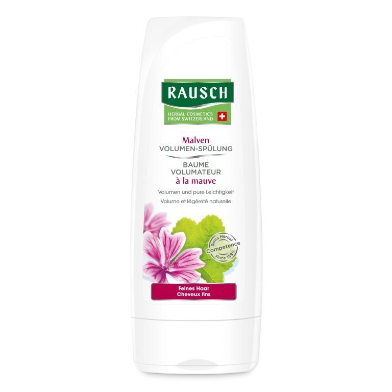 Купить Rausch Смываемый кондиционер для придания объема с экстрактом мальвы (Rausch, Для объема волос)