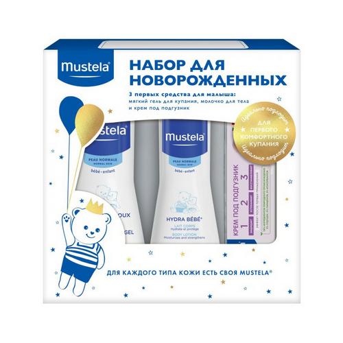 Купить со скидкой Mustela Набор для новорожденных, 1 шт (Mustela, Bebe - ежедневная гигиена)