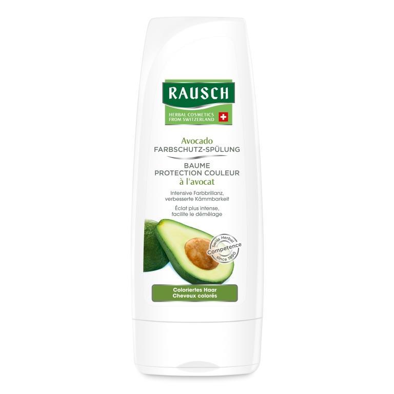Rausch Смываемый кондиционер Защита цвета с авокадо (Rausch, Для окрашенных волос)  - Купить