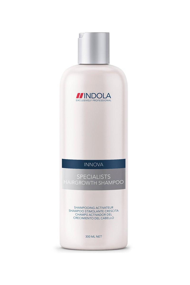 ������� ��� ��������� ������ ����� Specialists Hairgrowth Shampoo 300 �� (Indola Care)