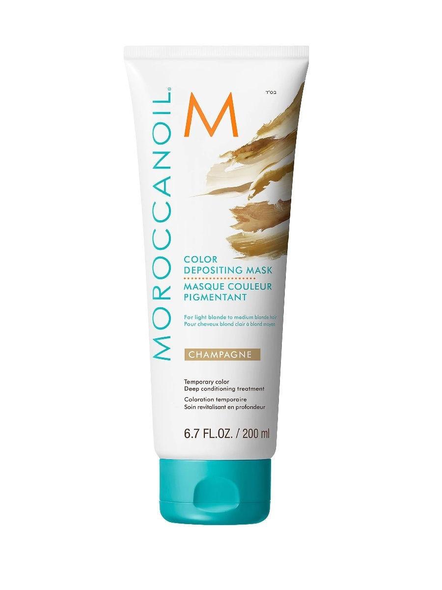 Купить Moroccanoil Тонирующая маска для волос Color Depositing Mask тон Champagne 200 мл (Moroccanoil, Color), Израиль