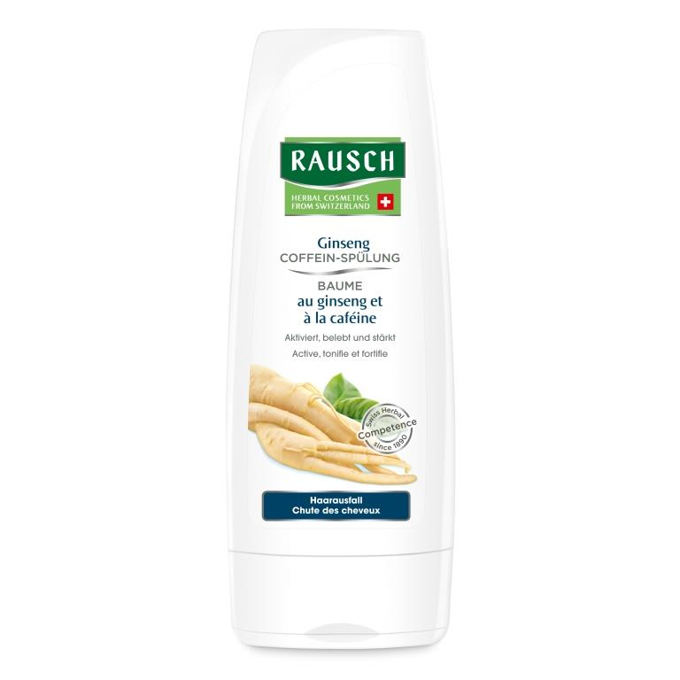 Rausch Смываемый кондиционер стимулирующий рост волос с женьшенем и кофеином (Rausch, От выпадения волос) витамины от выпадения волос недорогие и эффективные