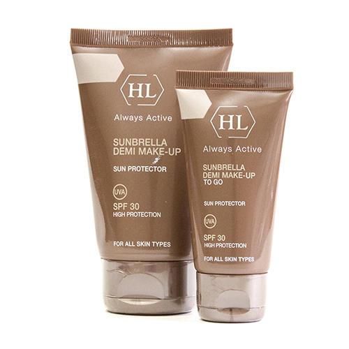 Holyland Laboratories Солнцезащитный крем с тоном Demi Make-Up SPF 30, 50 мл (Holyland Laboratories, Sunbrella) крем с тонирующим эффектом эйвон