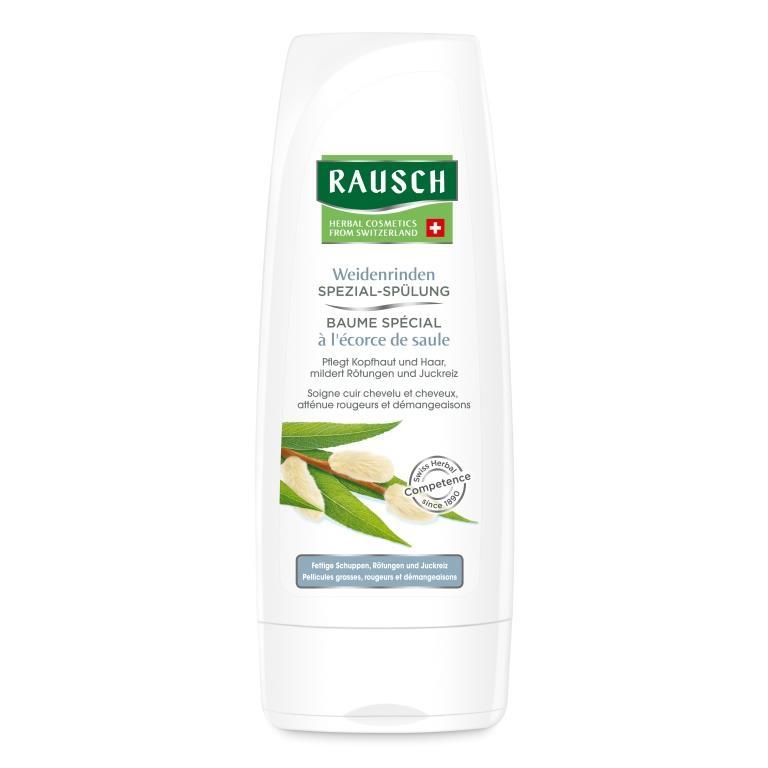 Rausch Смываемый кондиционер оздоравливающий с экстрактом коры ивы (Rausch, Для проблемной кожи головы) масло для проблемной кожи псораведика