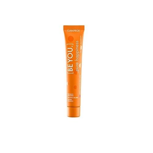 Curaprox Оранжевая зубная паста чистое счастье со вкусом персик-абрикос 90 мл (Curaprox, Зубные био-пасты)