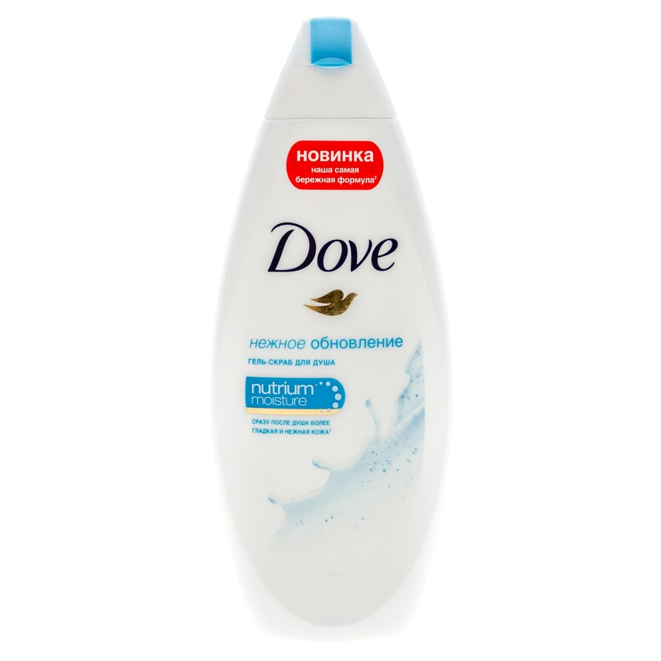 DOVE Гель-скраб для душа Нежное обновление 250 мл (DOVE, Средства для ванны и душа)
