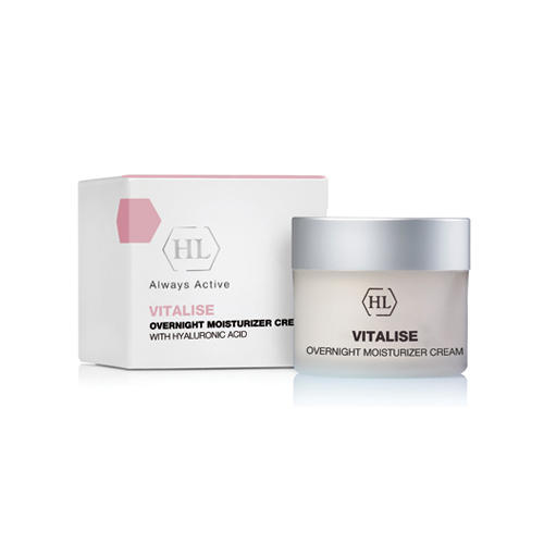 Holyland Laboratories Overnight Moisturizer Cream Ночной увлажняющий крем 50 мл (Holyland Laboratories, Vitalise), Израиль  - Купить