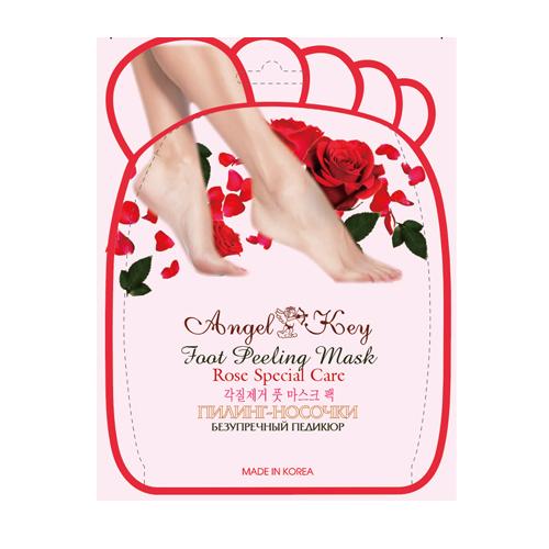 Купить Angel Key Пилинг- носочки с экстрактом розы Angel Key , 40 г. (Angel Key, Spa), Корея