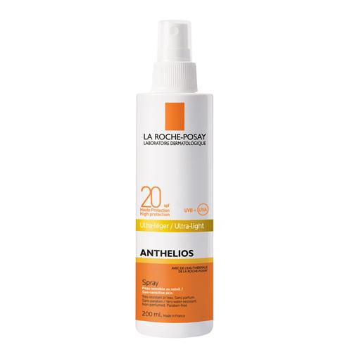 Спрей для лица и тела для всех типов кожи Антгелиос SPF 20, (La RochePosay, Anthelios)