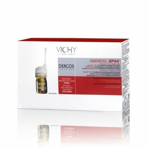 Средство от выпадения волос для женщин Аминексил SP94 (Vichy, DERCOS) аминексил виши для женщин цена