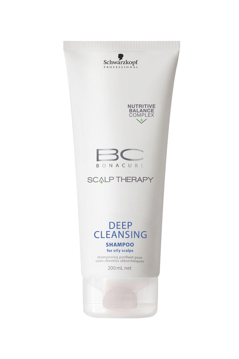 Schwarzkopf Professional BC Шампунь для глубокого очищения Scalp Therapy Deep Cleansing Shampoo 200 мл (BC Bonacure)