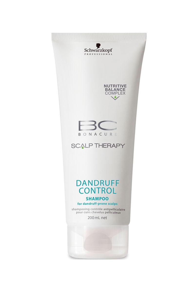 Schwarzkopf Professional BC Шампунь против перхоти Scalp Therapy Dandruff Control Shampoo 200 мл (BC Bonacure)