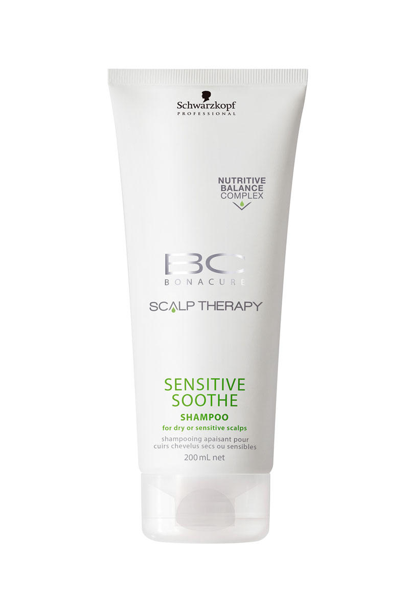 Schwarzkopf Professional BC Шампунь для чувствительной кожи головы Scalp Therapy Sensitive Shampoo 200 мл (BC Bonacure)