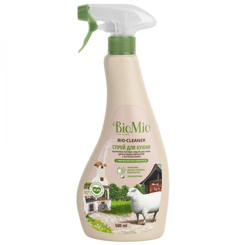 BioMio Спрей чистящий для кухни