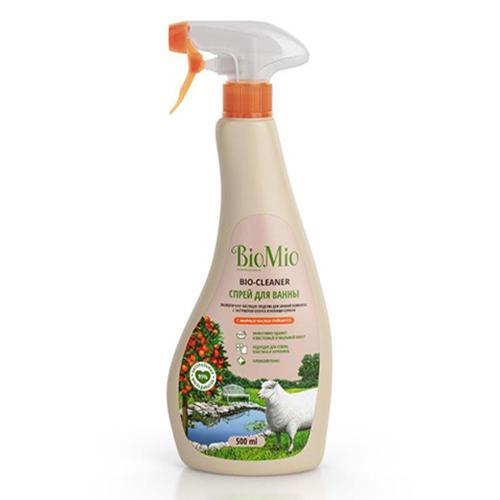 Средство для ванной комнаты чистящее Грейпфрут, 500 мл (BioMio, Уборка) glorix чистящее средство для пола деликатные поверхности 1л