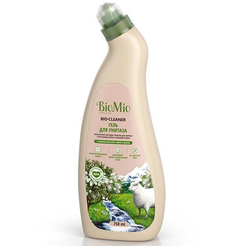 Средство для унитаза чистящее Чайное дерево, 750 мл (BioMio, Уборка) чистящее средство для унитаза bref сила актив с хлор компонентом 50г