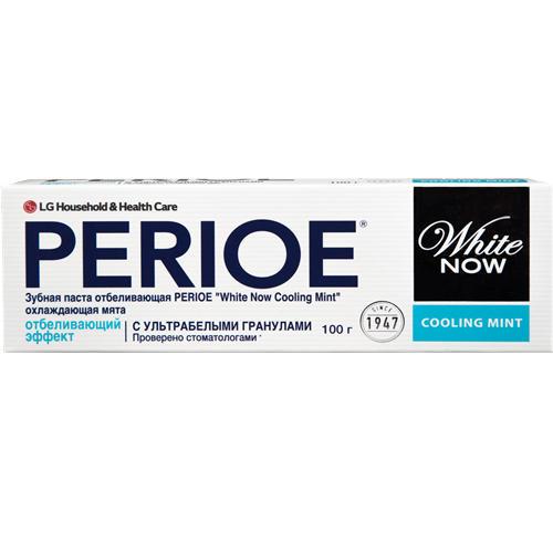 Зубная паста отбеливающая white now cooling mint охлаждающая мята 100 гр (Perioe, Зубные пасты) цена в Москве и Питере