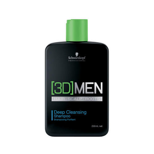 [3D]MEN ������� ��� ��������� ��������  Deep Cleansing Shampoo  250 �� ([3D]MEN) (Schwarzkopf Professional)
