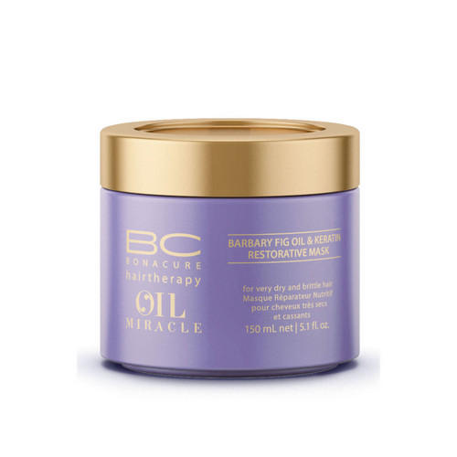 Восстанавливающая маска 150 мл (Schwarzkopf Professional, Oil Miracle Barbary) маска bonacure oil miracle barbary fig keratin restorative mask объем 150 мл