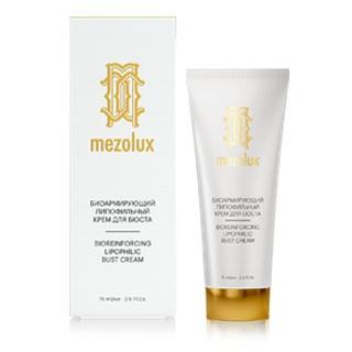 Биоармирующий липофильный крем для бюста, 75 мл (Mezolux, Mezolux) биоармирующий антивозрастной сывороточный концентрат 15 мл mezolux mezolux