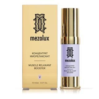 Концентратмиорелаксант, 15 мл (Mezolux, Mezolux) биоармирующий антивозрастной сывороточный концентрат 15 мл mezolux mezolux