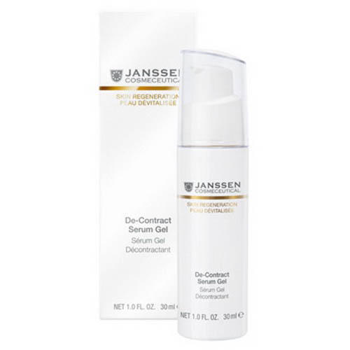 Гельмиорелаксант DeContract 30 мл (Janssen, Skin regeneration) janssen гель миорелаксант janssen skin regeneration de contract serum gel 190p 50 мл