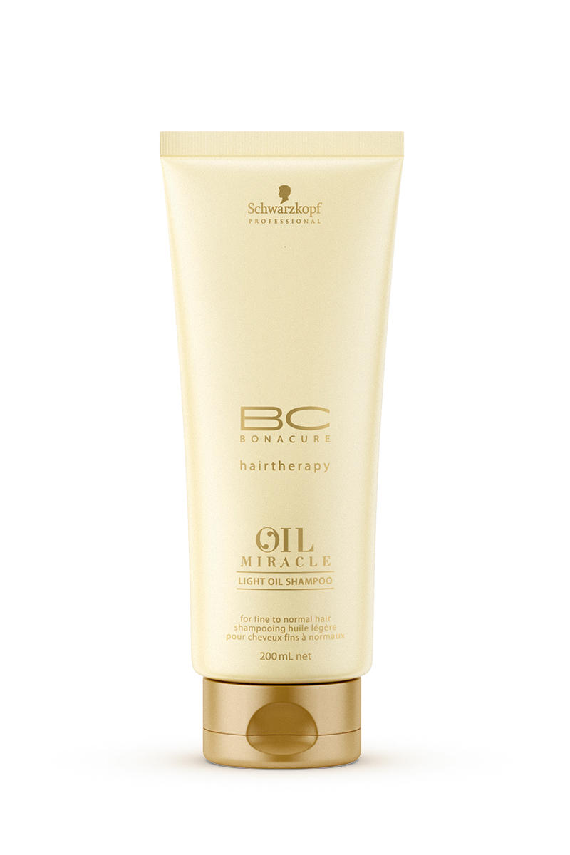BC ������� ��� ������ ����� Oil Miracle light shampoo 200 �� (BC Bonacure) (Schwarzkopf Professional)