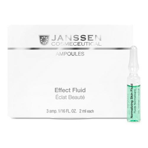 Janssen Нормализующий концентрат для ухода за жирной кожей 7х2мл (Ампульные концентраты)